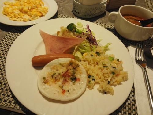 2日目の朝食♪(^∇^)