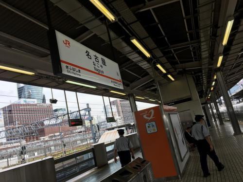 翌日は、名古屋~。