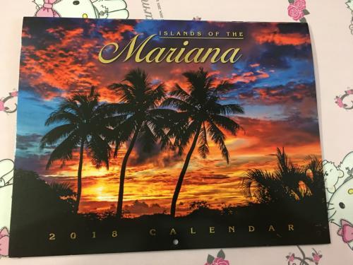 何時も10月には HAWAIIに行くのですが 今年はHAWAIIではありませんので ・・・マリアナ諸島のカレンダー<br />これも全くHAWAIIと同じです