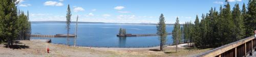 <br /> ウエストサムの湖パノラマ