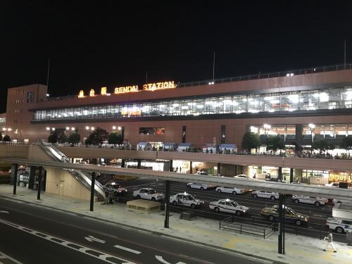 牛たんを堪能した後は仙台駅方面へ戻ります
