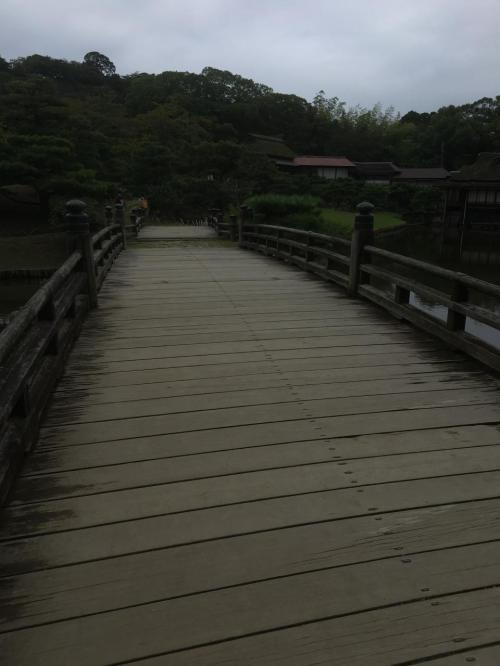 時代劇に出てきそうな橋