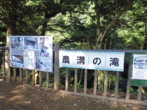 濃溝(のうみぞ)の滝