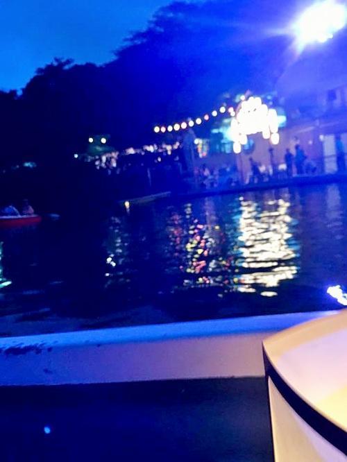 ボート乗船場の写真。