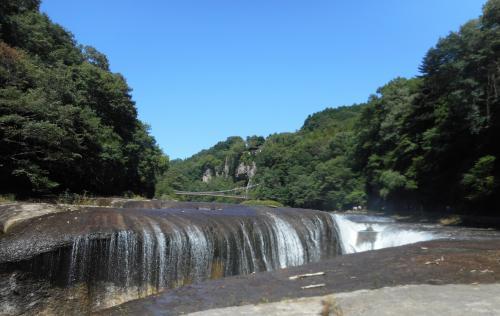 東洋のナイアガラ・吹割の滝(ふきわれのたき)