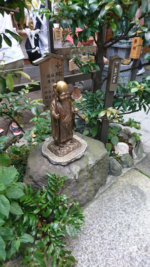 福禄寿さまは、健康長寿の御利益とともに、「福徳」「人徳」「財徳」など、さまざまな「徳」を授ける神様として、日本橋七福神の一柱にもなっています。