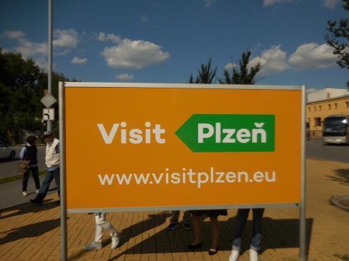 【13:20】<br />ニュルンベルクから3時間弱でチェコのプルゼニュへ到着!「プルゼニュ」は、ドイツ語で「ピルゼン」と言うそうです。周辺ではピルゼンのほうが通じやすいかも!?