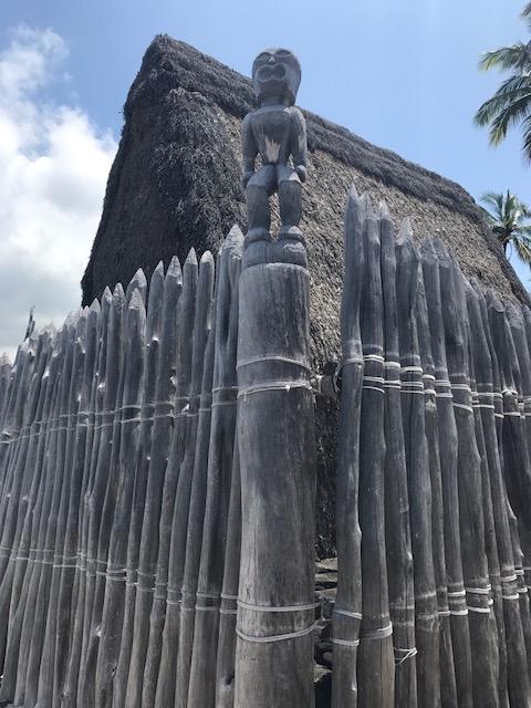 ハワイで最も神聖な史跡です。
