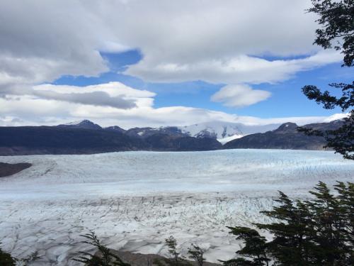 氷河がでかすぎで距離感がつかめない