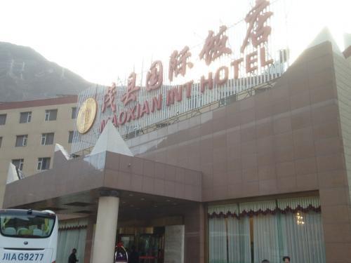 3日目の朝。<br />宿泊したホテルの外観はこんな感じ。