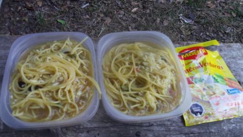 毎日 こんな感じでスパゲッティ三昧