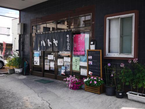 〔日新町 ハトヤ食堂 本店〕<br />11:30、お昼時、ちょうど会津若松に到着。<br />以前も訪れたお店に再訪しました。