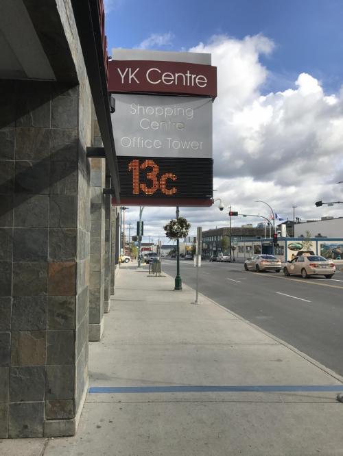 2日目は、食材購入の為にダウンタウンへ!<br />気温も13℃と過ごしやすい気温でした。