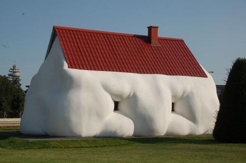マシュマロのような家。