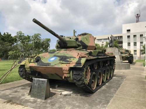 金門八二三砲戦記念園区<br /><br />戦車<br />