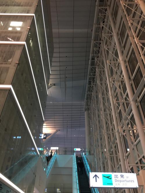 40分程で羽田空港に到着。