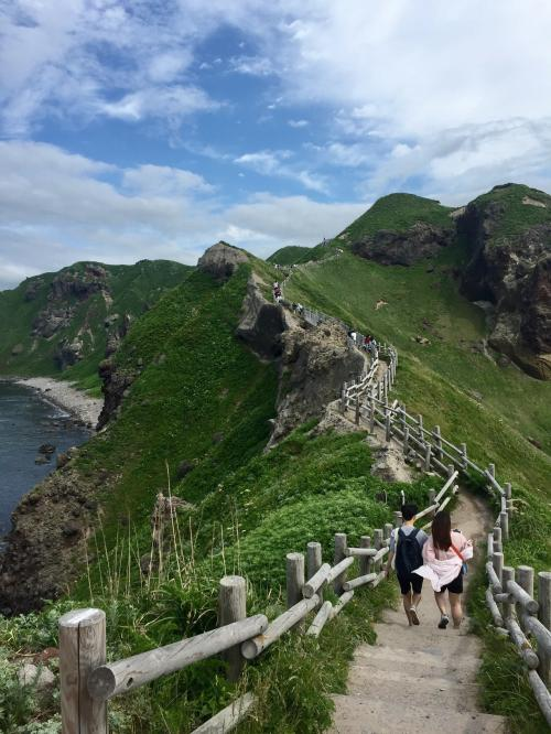 万里の長城ってこんな感じなのですかね~雄大な景色を堪能しながらまたのんびり歩いて戻ります。