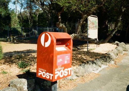 オーストラリアの郵便ポスト。