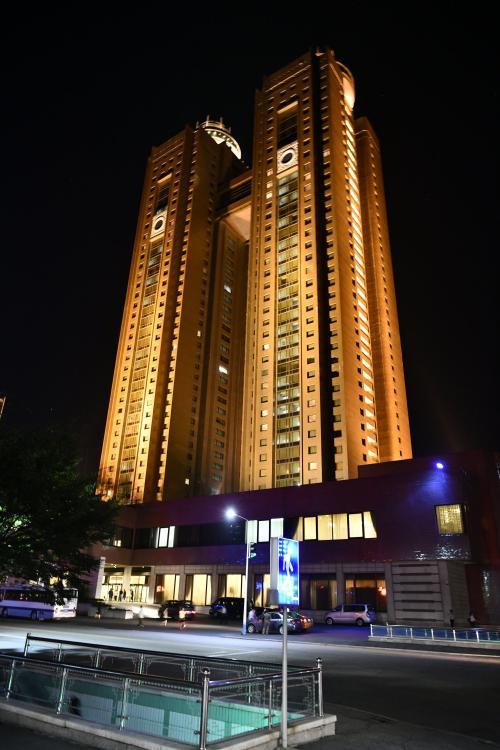 朝鮮国内の特急ホテルの高麗ホテル