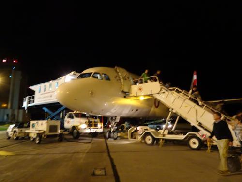 プリンスエドワード島のシャーロットタウン空港に到着!<br /><br />やっと着きました。はぁー長かった!<br /><br />しかし!ここで試練が!