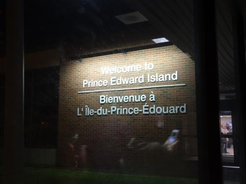 プリンスエドワードアイランドの文字にジーン・・・。<br /><br />とうとう来たのだ!