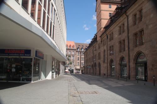 ニュルンベルクの街並み。