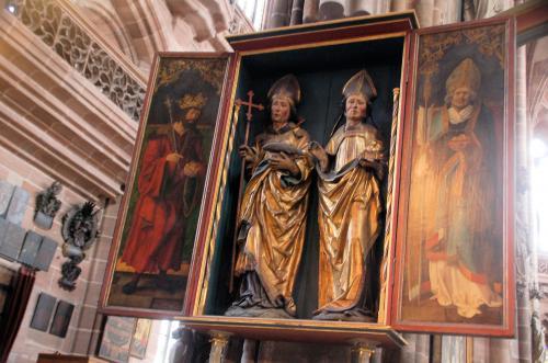 聖ニコラスの祭壇画。