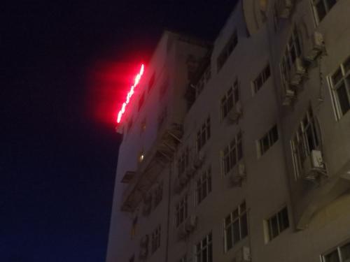 フロントはこっちですね。<br />金泉大酒店(Golden Spring Hotel)です。