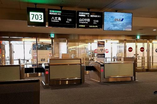 羽田空港からANAで八丈空港へ、出発前の案内放送で八丈空港の視界不良で羽田へ引き返す恐れアリの放送で、少々不安を抱え登場する。