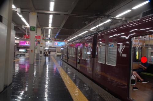 阪急宝塚線に乗り換え。