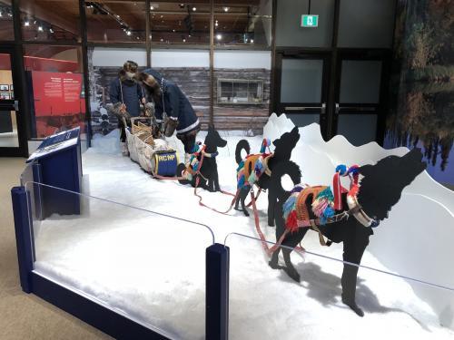 雪国の暮らしや歴史などが学べる博物館になっています。