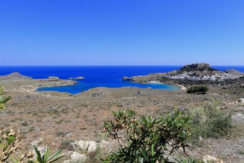 ブルーの美しい地中海