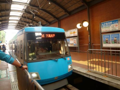 始発駅ってなんか好きなんですよねえ。<br /><br />京都の北野白梅町駅みたいな駅です。<br />江ノ電の藤沢駅にもちょっと雰囲気が似ていますね。