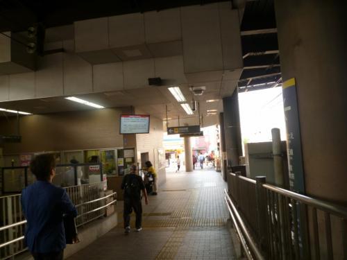 終点の下高井戸駅。