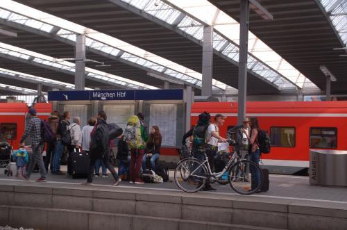 ドイツ鉄道(DB)は、自転車と一緒に乗車できる。