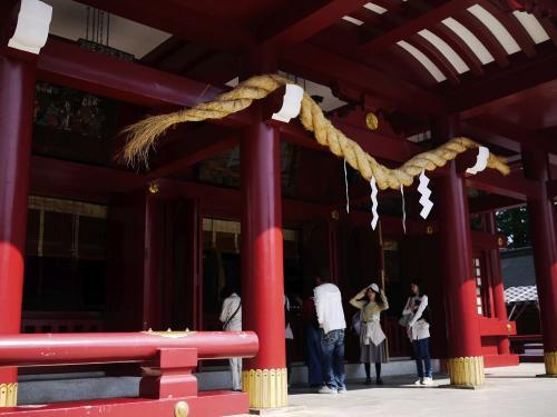 〔笠間稲荷神社〕<br />立派な神社です。