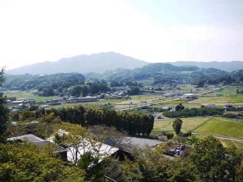 〔常陸国出雲大社〕<br />山の上にあるので景色も良かったです。