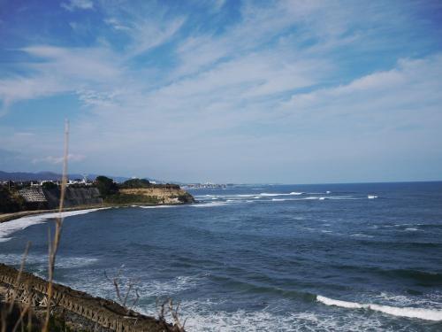 海を見ると気分がいいですね。