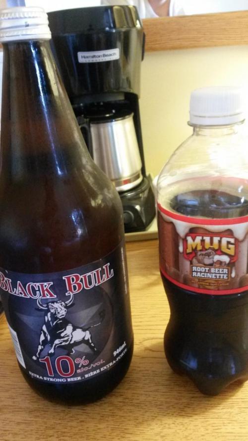 激辛王子が<br />地元民がみんな買ってたよ!というアルコール度数10のお安いビールは<br />不味かったそうです。