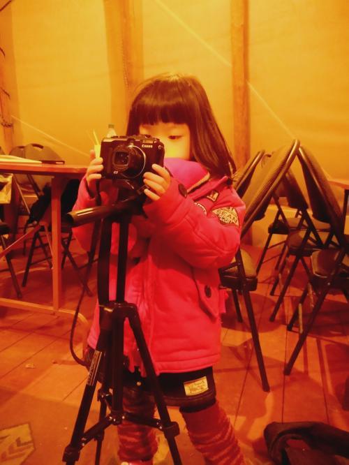 娘、カメラに夢中な件。