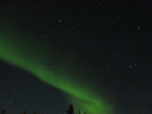 星空もきちんと撮れてました。