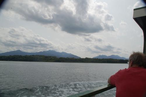 フラウエン島からシュトックまでは遊覧船で30分の旅。