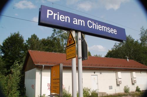 帰りもプリーン・アム・キームゼーからユーレイルパスを活用して列車に乗る。