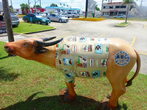 いろんな模様の水牛があるので、探してみてください。