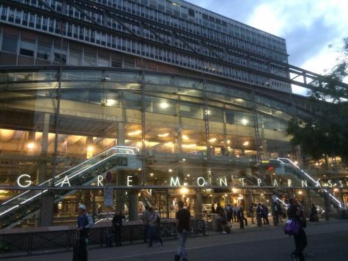 ボルドーを出発したTGVが到着した場所は「パリ・モンパルナス駅」