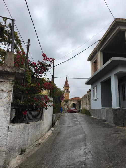 ☆Greece-Zakynthos★<br /><br />「ザキントス」<br />ナヴァイオビーチ最寄の街、ヴォリメスの街並み。