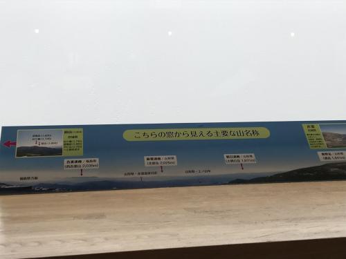蔵王山頂レストハウスからの眺望。霧で真っ白・・・