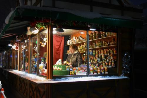 ☆大通2丁目会場<br />毎年あるマトリョーシカのお店。<br />ロシアと札幌、ご縁が深いんです。