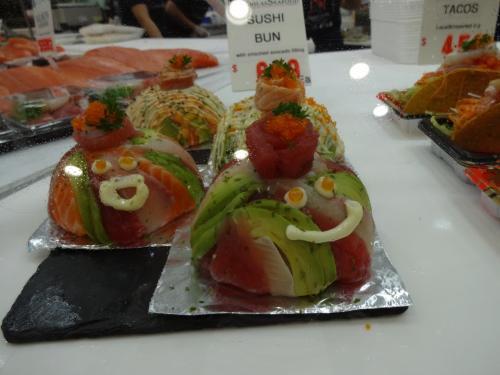 なんかかわいい寿司ケーキ?