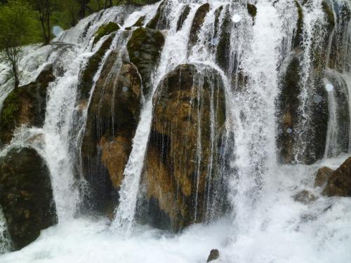無数にある滝。